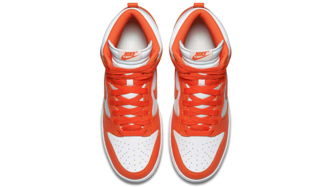 designer fashion 2a1f1 16c20 ... Dates Nike Releases Dates Air Jordan Releases Adidas Release Dates   Womens Nike SB Dunks High Be True To Your School Syracuse College Orange  White ...