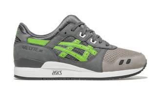 "Asics Gel-Lyte III x KITH ""Super Green"""