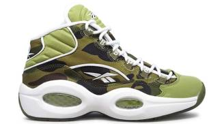 "Reebok Question Mid x BAPE ""1st Camo"""