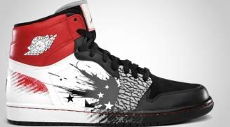 Dave White x Air Jordan 1 Retro High DW Black/Sport Red-White