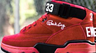 Ewing Athletics Ewing 33 Mid Red/Black-White