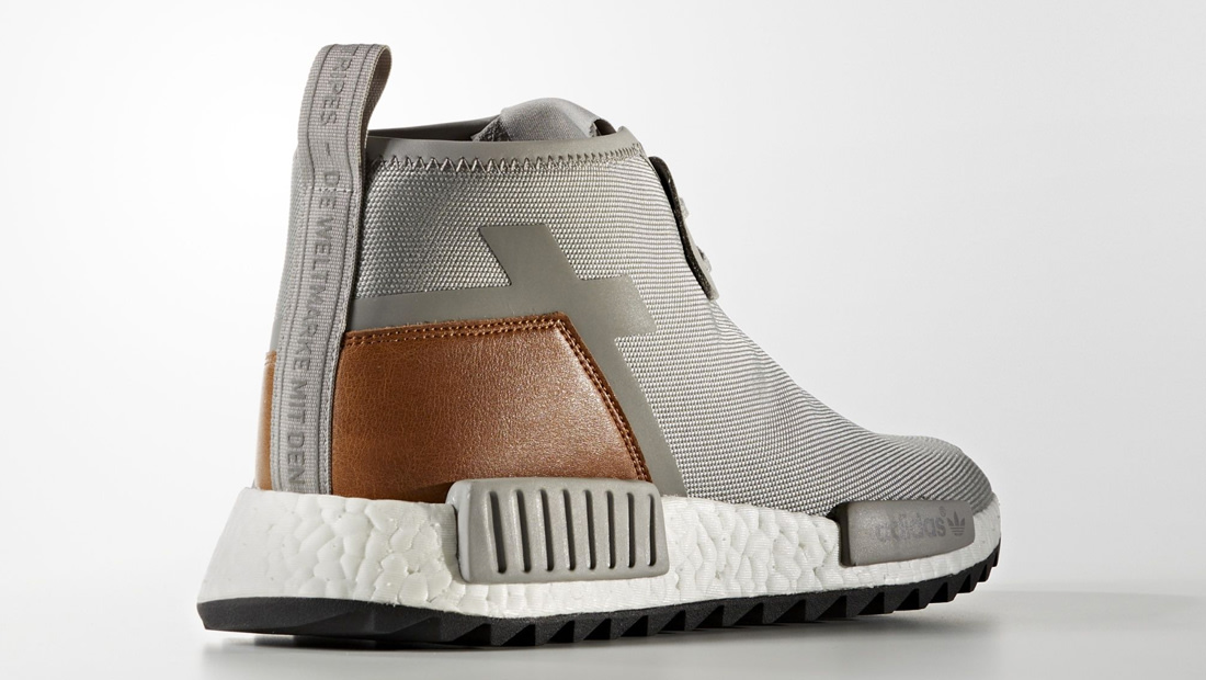 Cheap NMD C1 TR Grey White Brown Sport Shoes on Sale