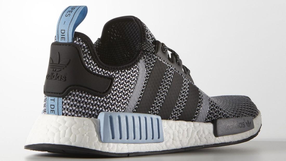 Adidas Nmd Clear Blue On Feet