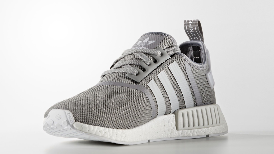 Adidas Nmd R1 Grey White