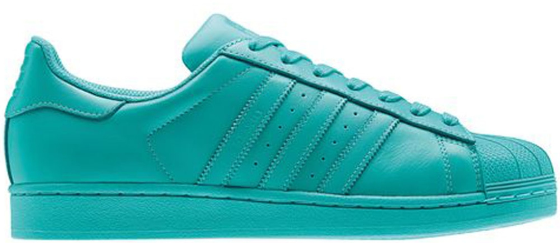 Adidas Superstar Mint Weiß