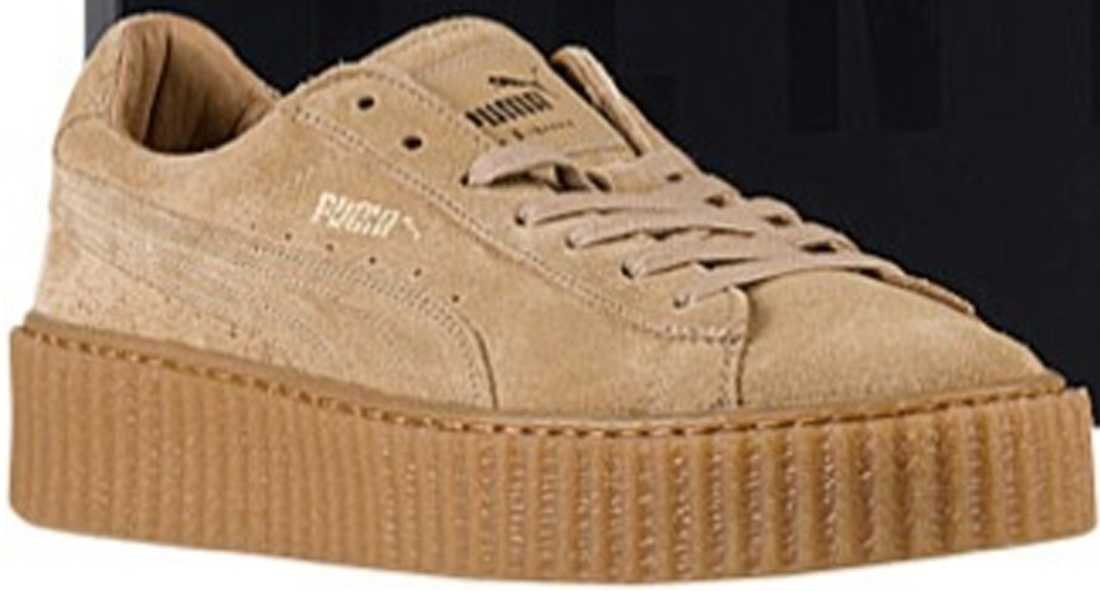 Puma Creepers Womens Oatmeal