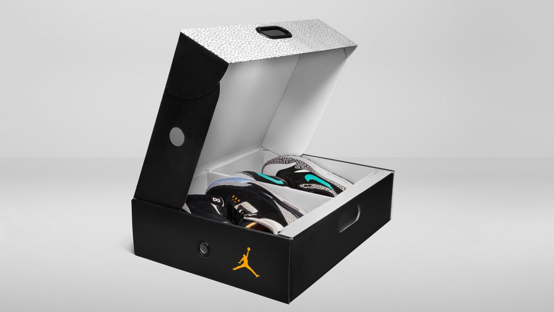 Nike Air Max 1 x Air Jordan 3 Retro x ATMOS Pack