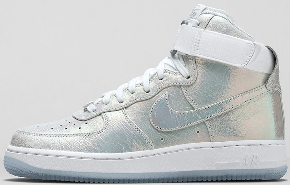 nike air force 1 silver