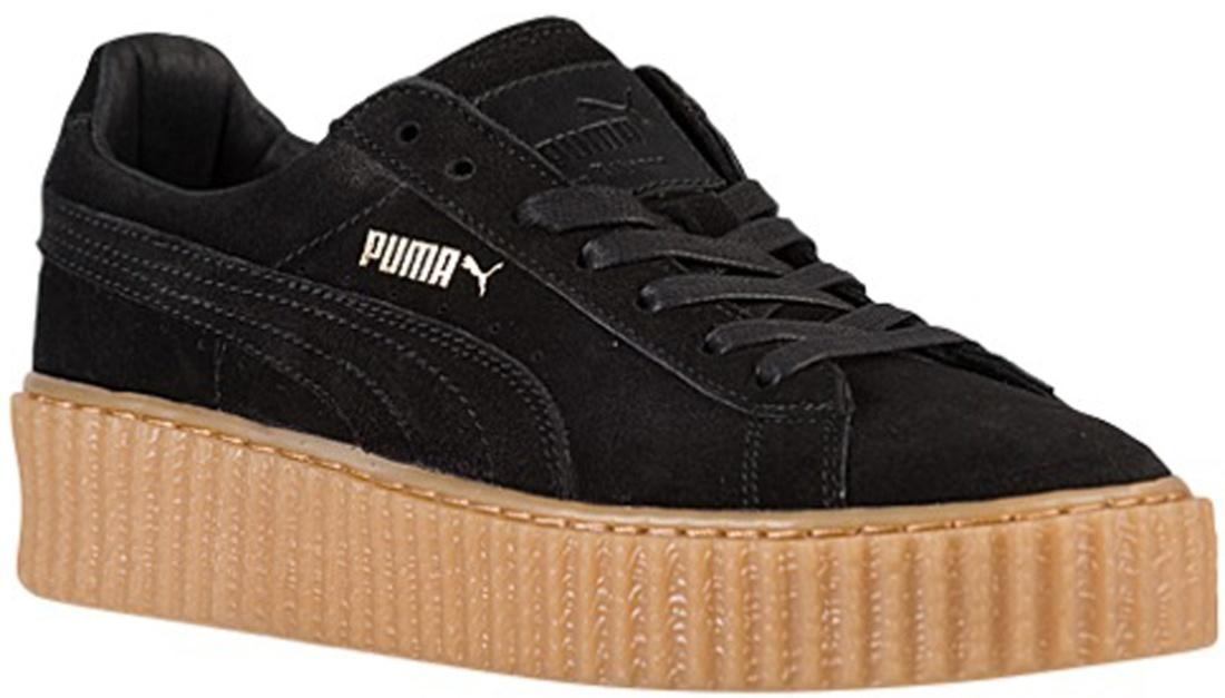 Puma Rihanna Black Oatmeal