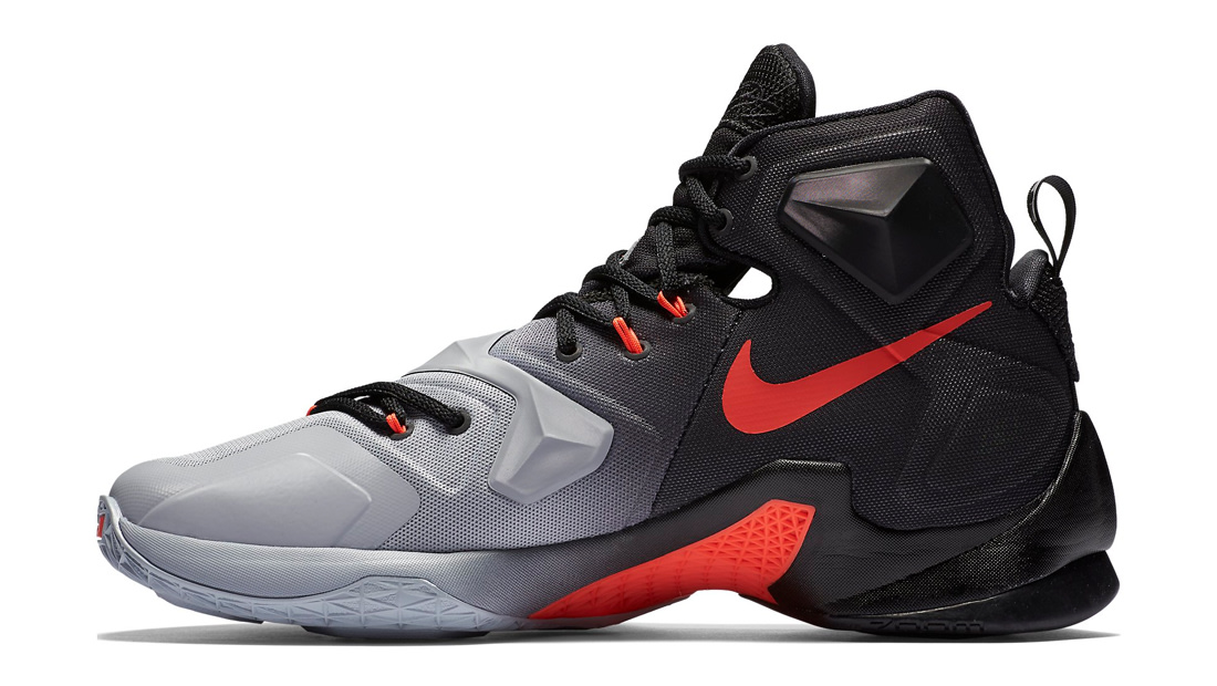Gray And Orange Nike Shoes