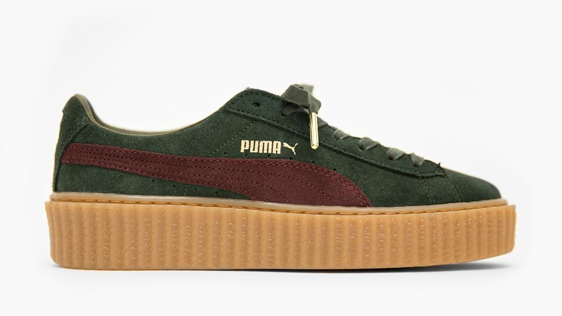 Puma X Fenty Rihanna Bordeaux