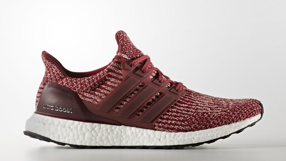 Adidas Ultra Boost Burgundy Red