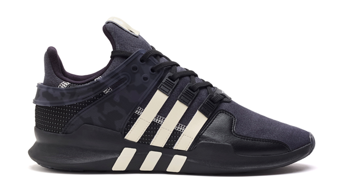 adidas Originals Equipment Support ADV EQT All Black Mens