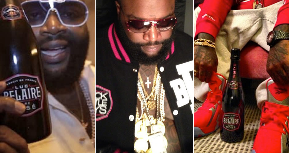 Dear rick ross please stop trying to make black bottles for Where can i buy belaire rose champagne