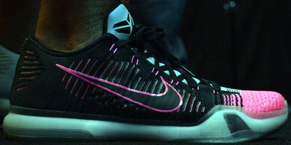Nike Kobe X Elite Low Black/Black-Wolf Grey-Pink Flash