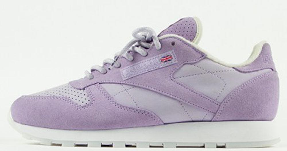 Reebok Classic Purple Oasis/White