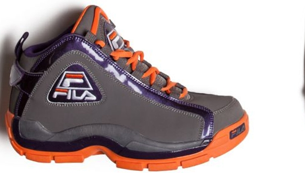 Fila 96 Pewter/Mystery Purple-Vibrant Orange