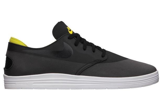 Nike Lunar One Shot SB Black/Tour Yellow