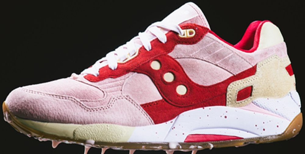 Saucony G9 Shadow 5 Pink/Red-Cream