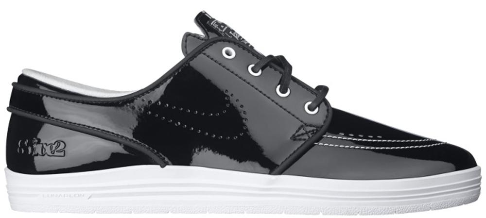 Nike Lunar Stefan Janoski SB Black/Black-White