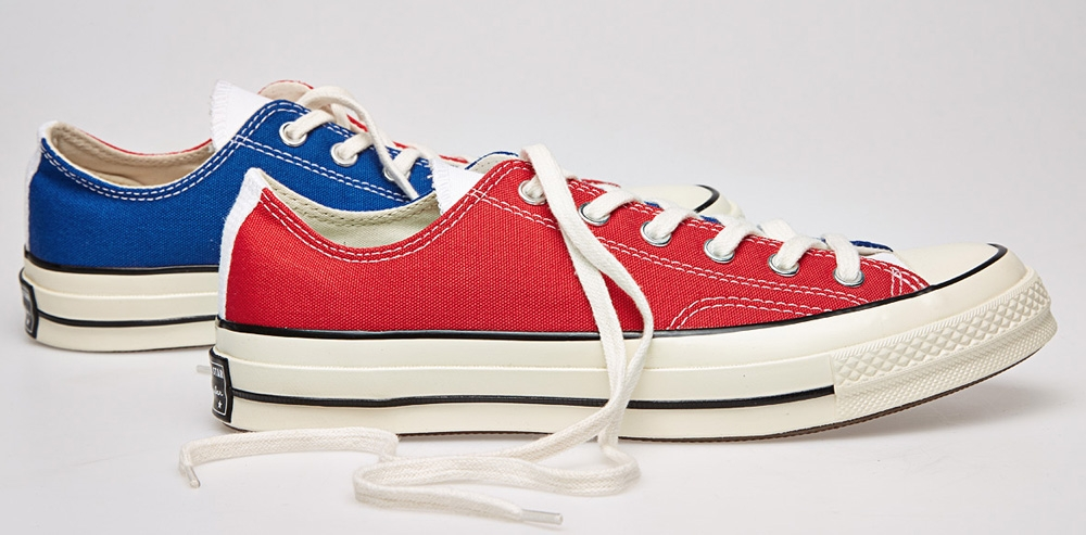 Converse Chuck Taylor All Star 1970s Ox Red/White-Blue