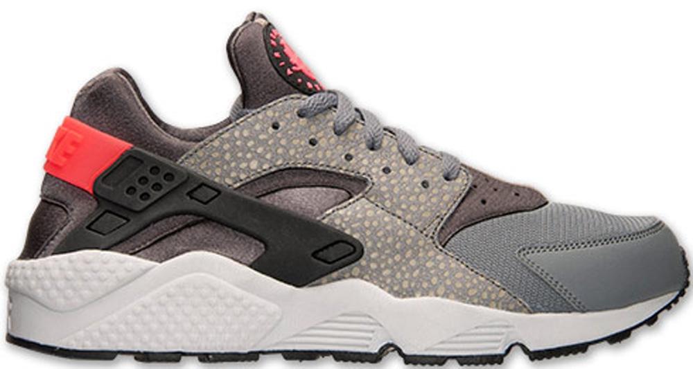Nike Air Huarache Premium Cool Grey/Black-Medium Ash-Hyper Punch