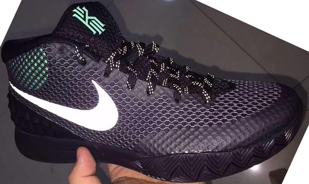 Nike Kyrie 1 Black/Reflect Silver-Dark Grey-Green Glow