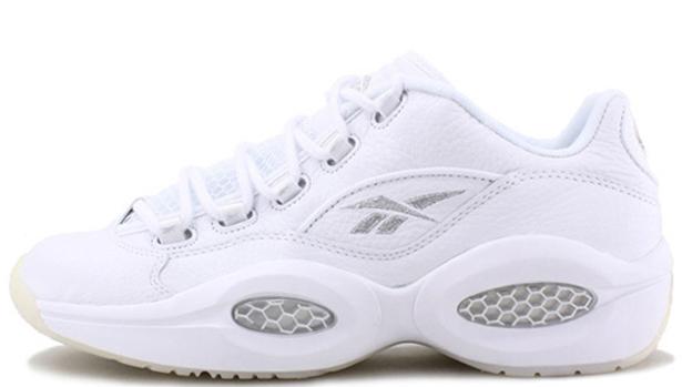 Reebok Question Low White/Pure Silver