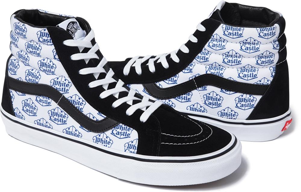 Vans Sk8-Hi Black/White-Blue