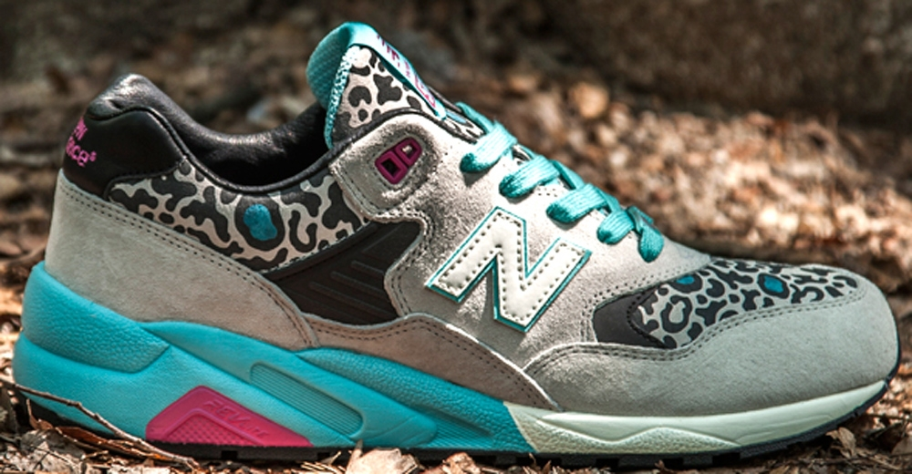 New Balance 580 Beige/Black-Teal