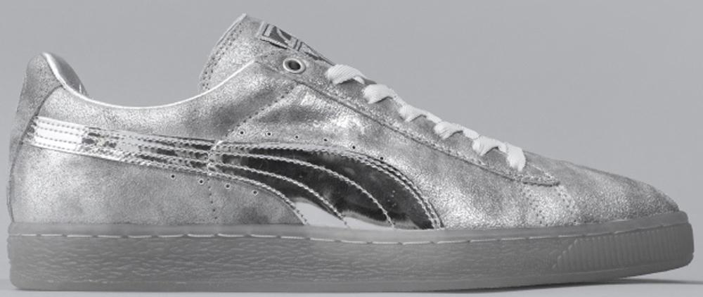 Puma Suede Low Silver/Silver