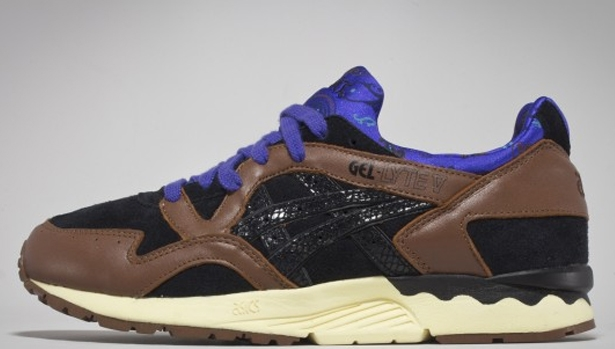 Asics Gel-Lyte V Brown/Black-Purple