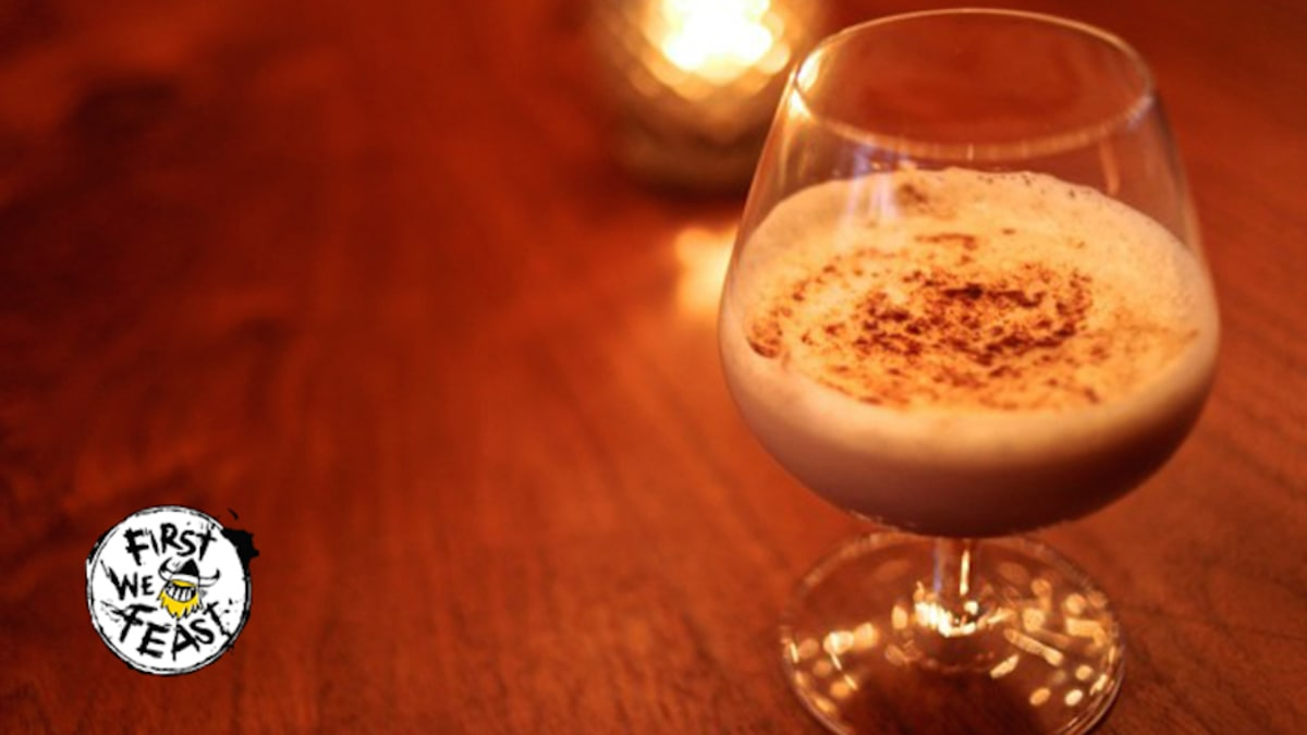 how to make a drink called eggnog