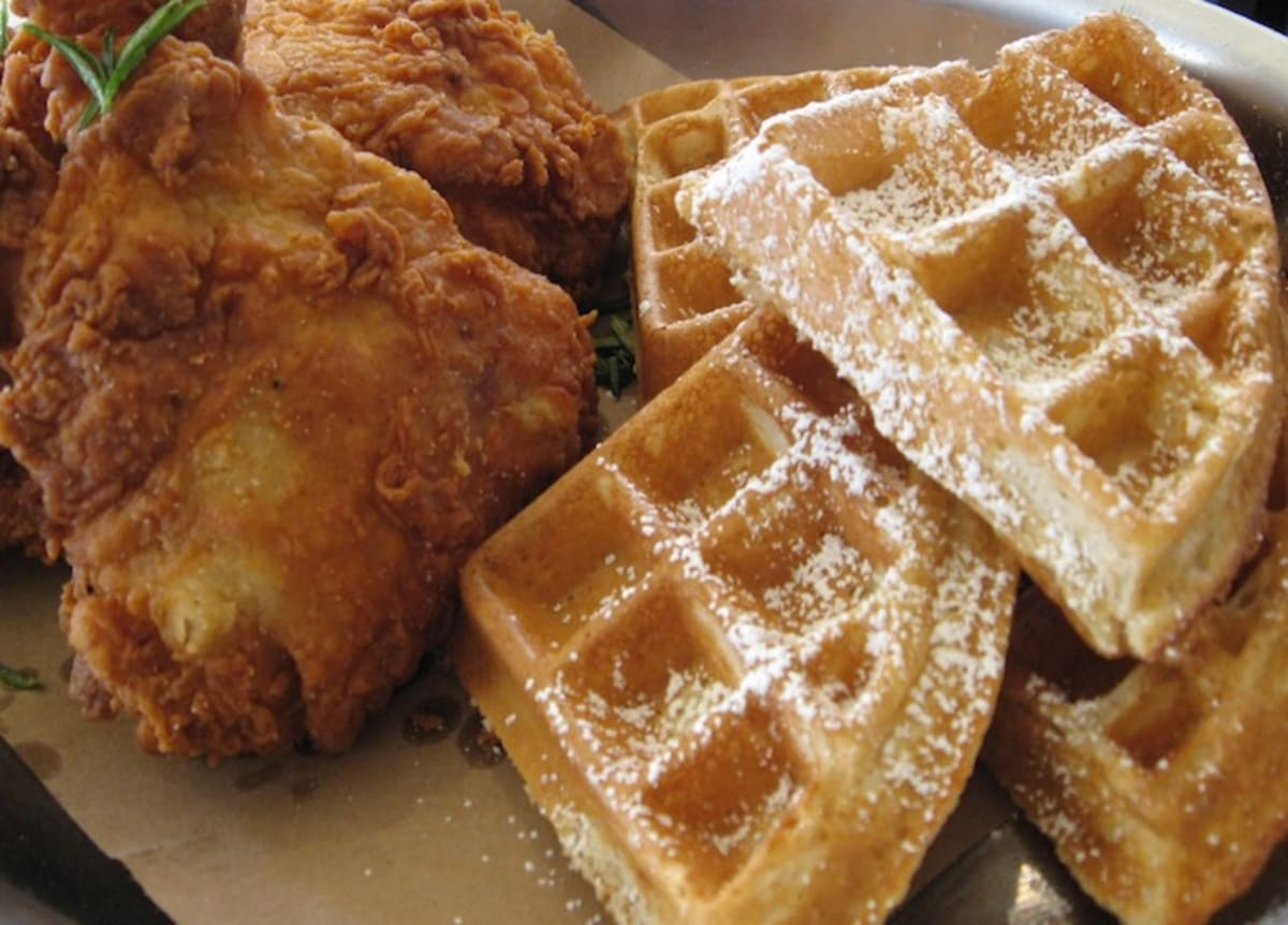 "Fried Chicken & Waffles: A ""Yankee-fied"" Take on Southern ..."