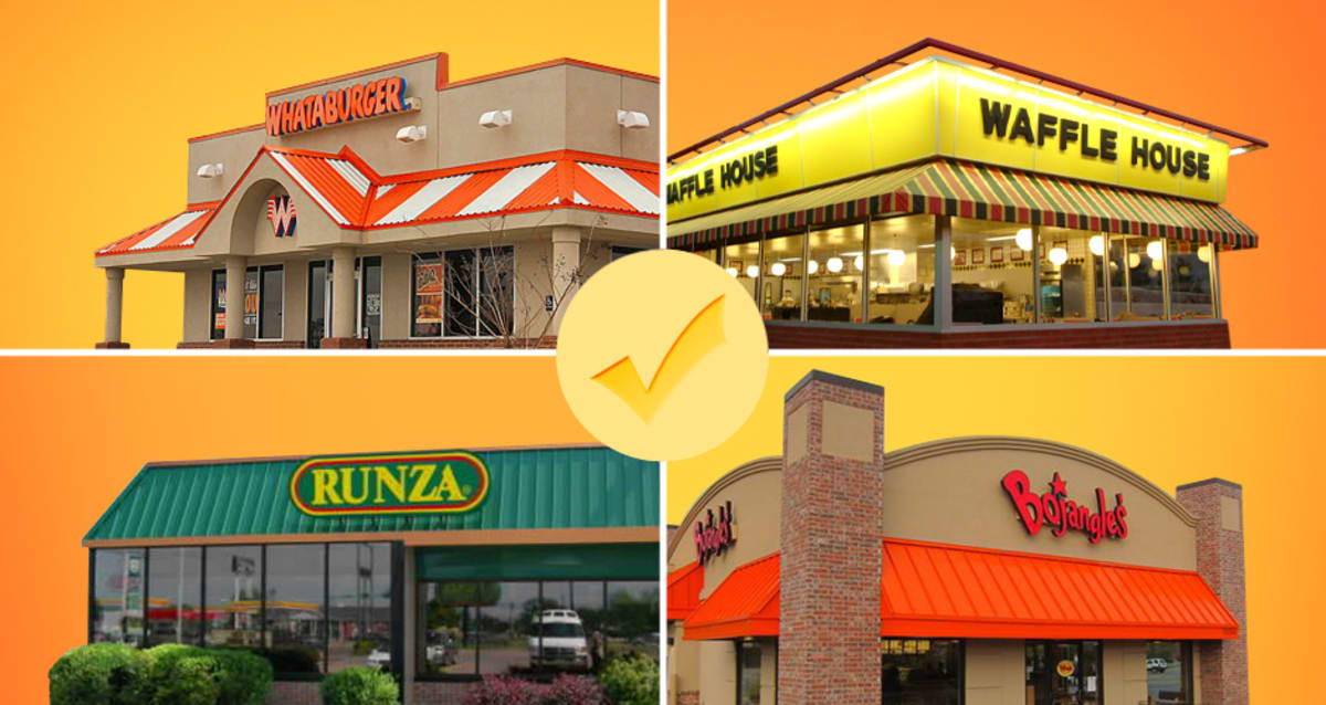 19 Bucket List Regional Fast Food Chains To Try Before You