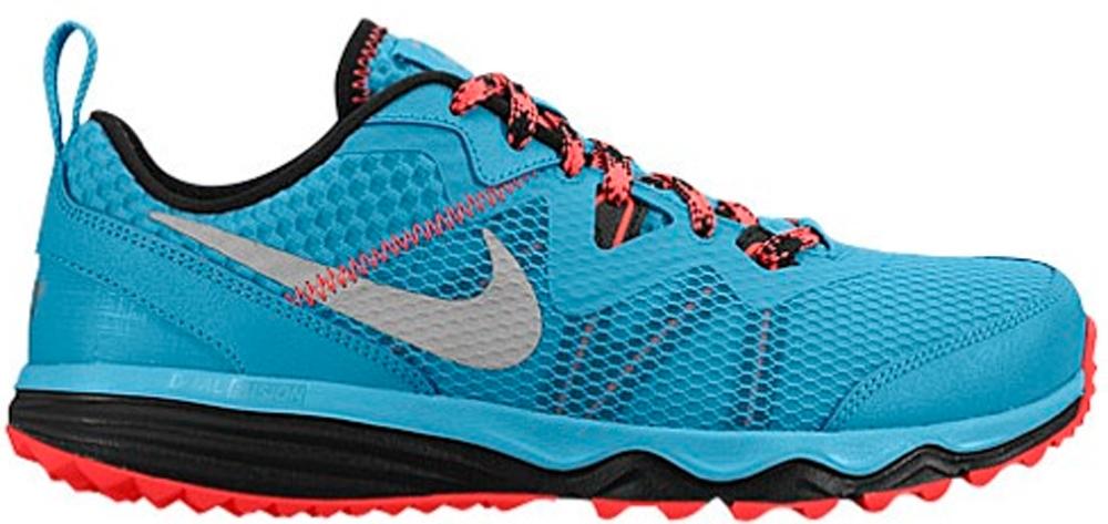 Nike Dual Fusion Trail N7 Dark Turquoise/Hyper Punch-Black-Metallic Silver