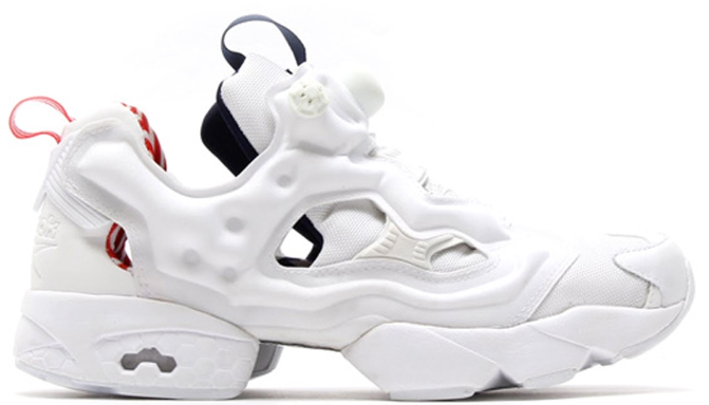 Reebok Instapump Fury White/Blue-Red