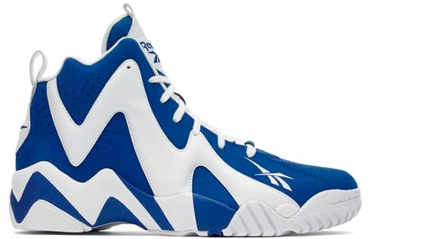 Reebok Kamikaze II Mid Team Dark Royal/White