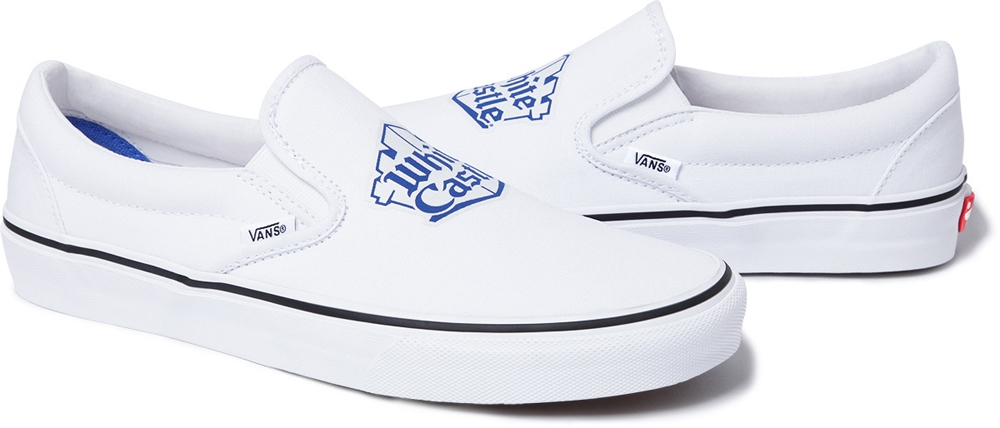 Vans Slip-On White/Blue
