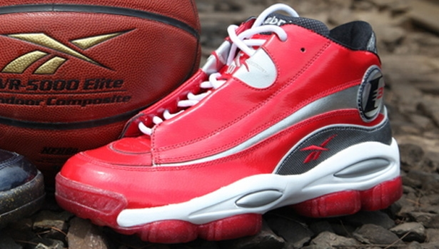 Reebok Answer I Excellent Red/White-Pure Silver