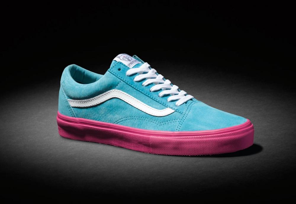 Vans Syndicate Old Skool Pro S Blue/Pink