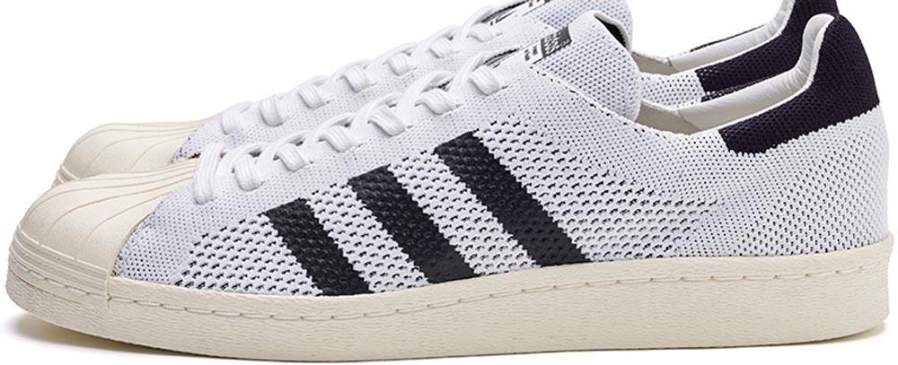 adidas Consortium Superstar 80s Primeknit White/Black