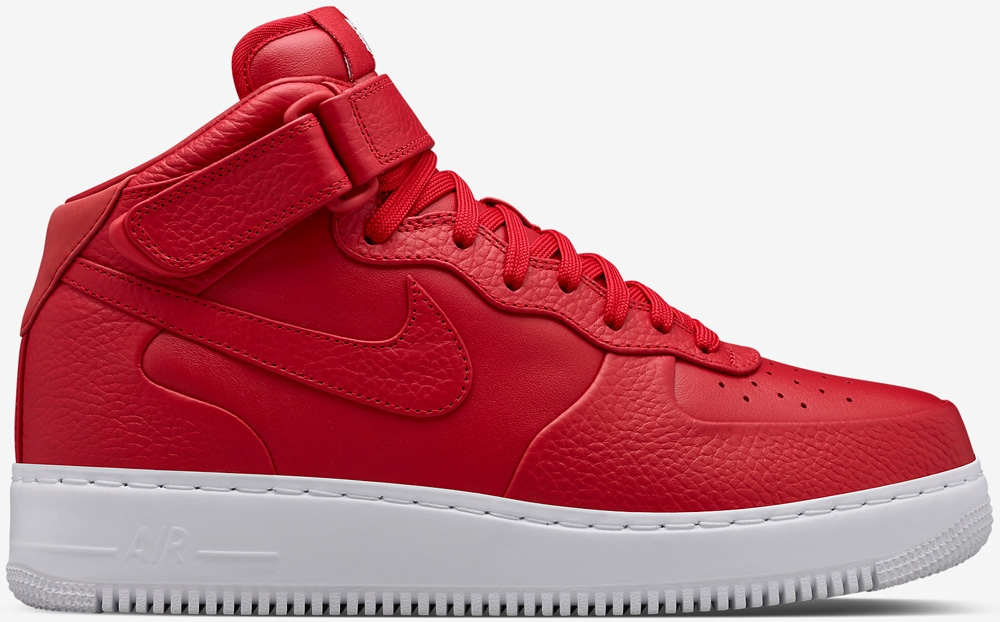 Nike Air Force 1 Mid SP Gym Red/White-Gym Red