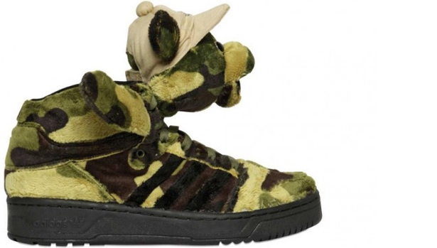 adidas JS Camo Bear Brown/Green
