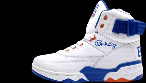 Ewing Athletics Ewing 33 Hi White/Orange-Blue