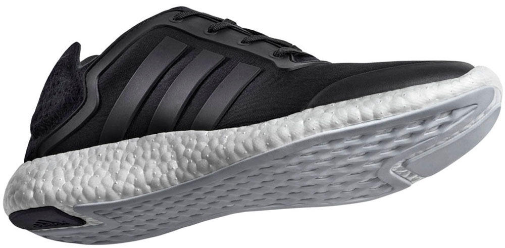 adidas Pure Boost Black/White-Clear Grey
