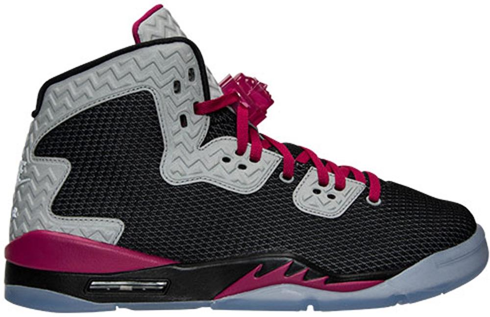 Girls Air Jordan Spike Forty PE Black/Sport Fuchsia