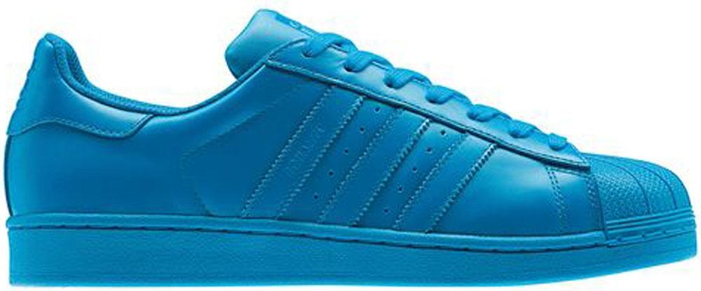 adidas Superstar Sharp Blue/Sharp Blue-Sharp Blue