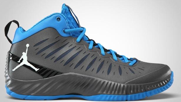 Jordan Super Fly Dark Grey/White-Photo Blue-Black