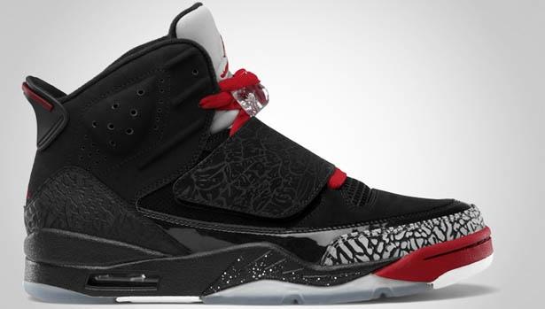 Jordan Son Of Mars Black/Varsity Red-Cement Grey-White